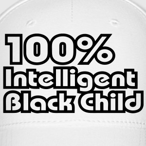 100% Intelligent Black Child Caps - Baseball Cap