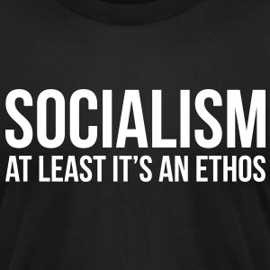 At Least Its An Ethos T-Shirts - Men's T-Shirt by American Apparel