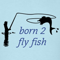 fly fishing (1c) T-shirts (manches courtes)