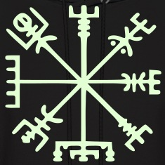 Vegvísir (Viking Compass) / Glow in the Dark