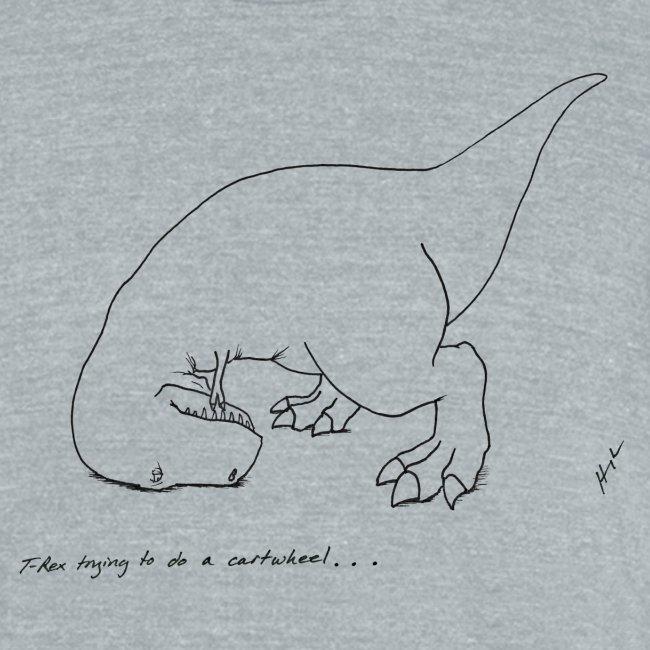 T-Rex Cartwheel (Am Apparel)