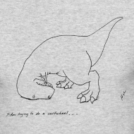 Design ~ T-Rex Cartwheel (Long Sleeve)