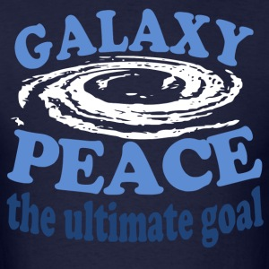 Galaxy Peace - Men's T-Shirt
