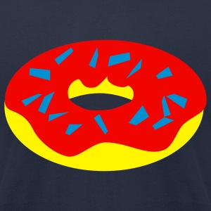 donut - Men's T-Shirt by American Apparel