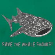 Design ~ animal t-shirt whale shark fish dive diver diving endangered species