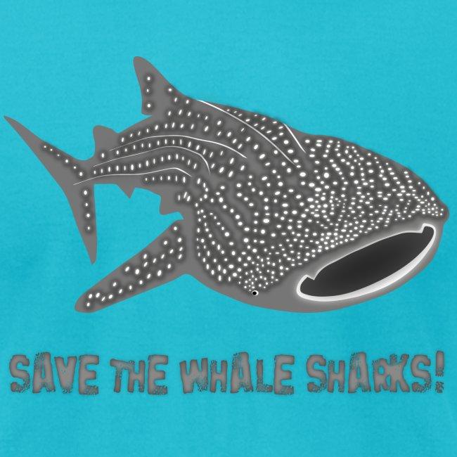 animal t-shirt whale shark fish dive diver diving endangered species