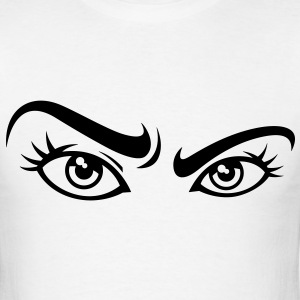 Staring Eyes (1c)++ T-Shirts - Men's T-Shirt