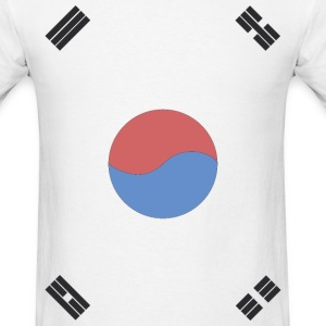 South Korea Flag T-Shirts - Men's T-Shirt
