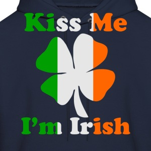Kiss Me I'm Irish Hoodies - Men's Hoodie