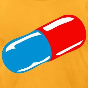 pill - Men's T-Shirt by American Apparel