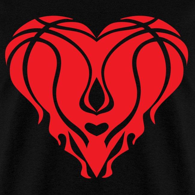 Heat Heart Shirt - Black