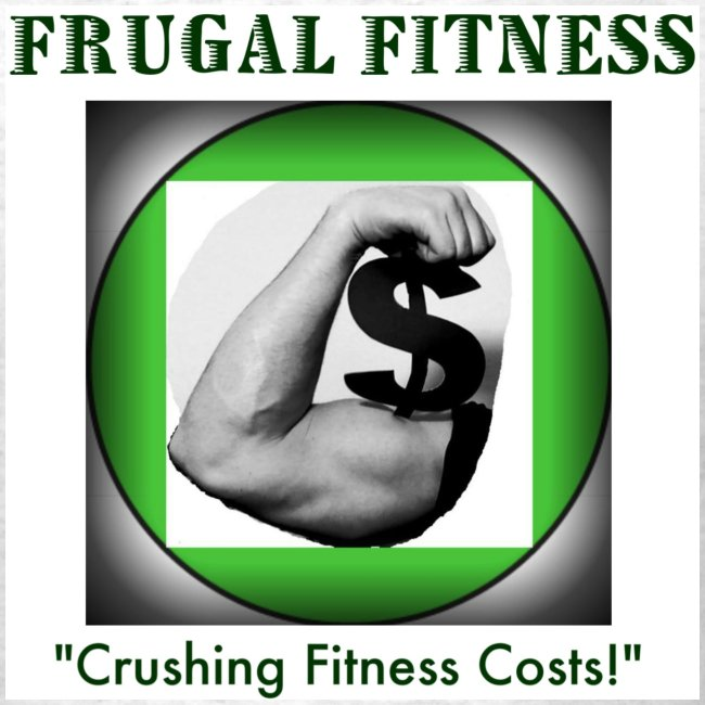Frugal Fitness Graphic T-shirt Graphics FRONT & BACK!
