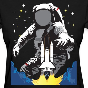 Into Space HD Design Women's T-Shirts - Women's T-Shirt