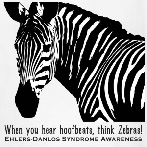 Think Zebras - Ehlers Danlos Awareness - Kid's Tee - Kids' T-Shirt