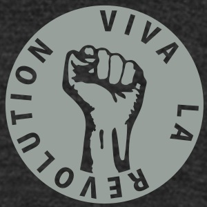 1 color - Viva la Revolution Working Class Against T-Shirts - Unisex Tri-Blend T-Shirt by American Apparel