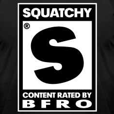 "Rated ""S"" for Squatchy (Black & White) - Men's"