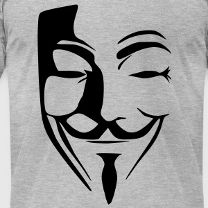 anonymous T-Shirts - Men's T-Shirt by American Apparel