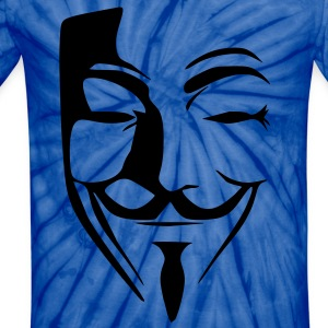 anonymous T-Shirts - Unisex Tie Dye T-Shirt