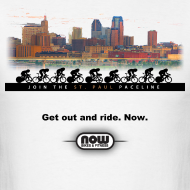 Design ~ St. Paul paceline t-shirt