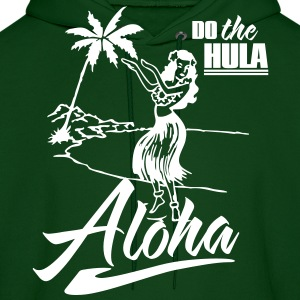 aloha - do the hula Hoodies - Men's Hoodie