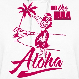 aloha - do the hula Hoodies - Women's Hoodie