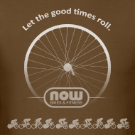 Design ~ Let the Good Times Roll - Now Bikes T-Shirt