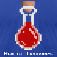 Design ~ Health Coverage Men's T-Shirt by American Apparel