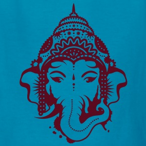 A portrait of the elephant god Ganesha Kids' Shirts - Kids' T-Shirt