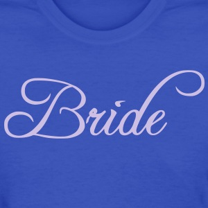 Fun Silver Grey Bride Text Word Graphic Design for Bachelor Parties, Hen Party, Stag and Does, Bridal Party and Wedding Showers TShirts Women's T-Shirts - Women's T-Shirt