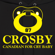 Design ~ Crosby Canadian For Cry Baby Sweatshirt