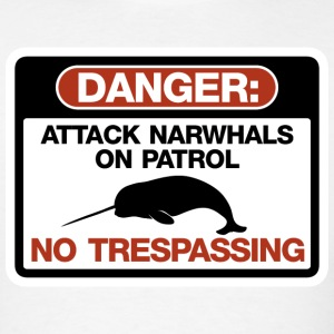 Attack Narwhals on Patrol T-Shirts - Men's T-Shirt