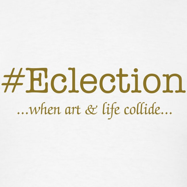 #Eclection (metallic gold)