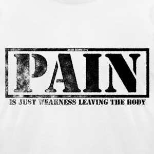 Pain - Men's T-Shirt by American Apparel