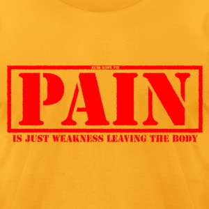 Pain 3 - Men's T-Shirt by American Apparel