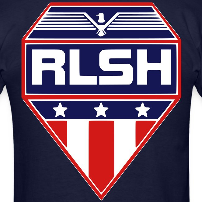 RLSH PATRIOTIC Badge Adult T-Shirt