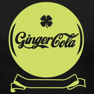 Ginger-Cola - Women's V-Neck T-Shirt