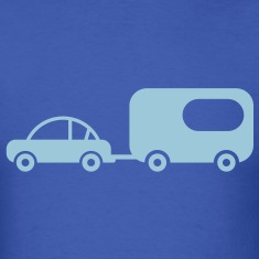 Car with Trailer T-Shirts