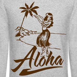 aloha Long Sleeve Shirts - Crewneck Sweatshirt