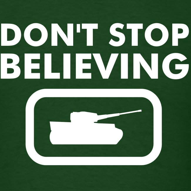 Axis & Allies 'Don't Stop Believing' Tank Tee