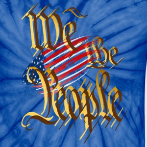 We The People - Unisex Tie Dye T-Shirt