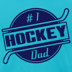 #1 Hockey Dad T-Shirts