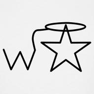 Design ~ Men's Tall Black Logo Wranglerstar