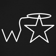 Design ~ Men's Tall White Logo Wranglerstar