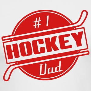 #1 Hockey Dad Long Sleeve Shirts - Men's Long Sleeve T-Shirt by Next Level