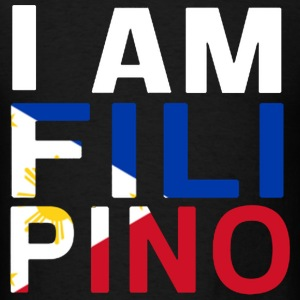 I AM FILIPINO (White) T-Shirts - Men's T-Shirt
