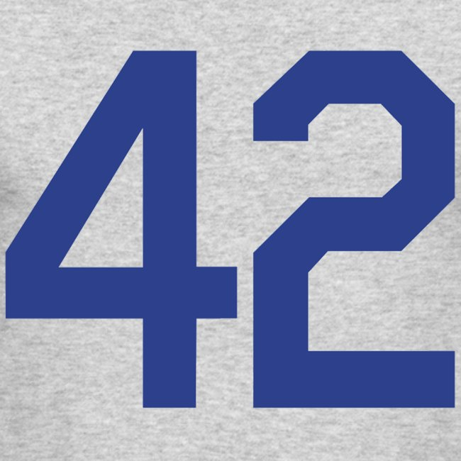 competitive price 3dce2 53628 Jackie Robinson 42 Long Sleeve Shirt | Men's Long Sleeve T-Shirt by Next  Level