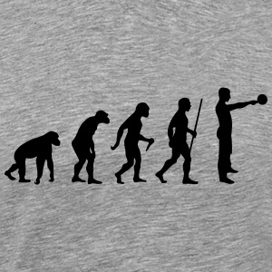 Evolution - Kettlebell Swing T-Shirts - Men's Premium T-Shirt