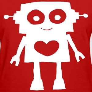 Robot Heart - Women's T-Shirt