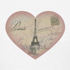 Paris in my heart - Women's T-Shirt