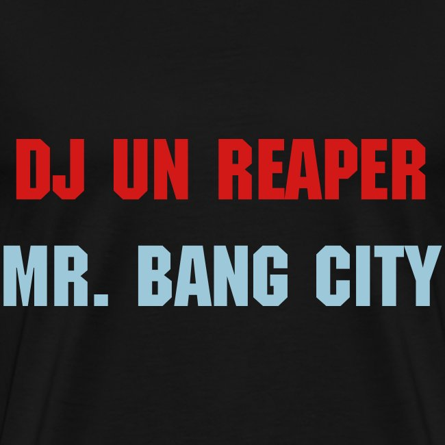 Mr. Bang City (Black)